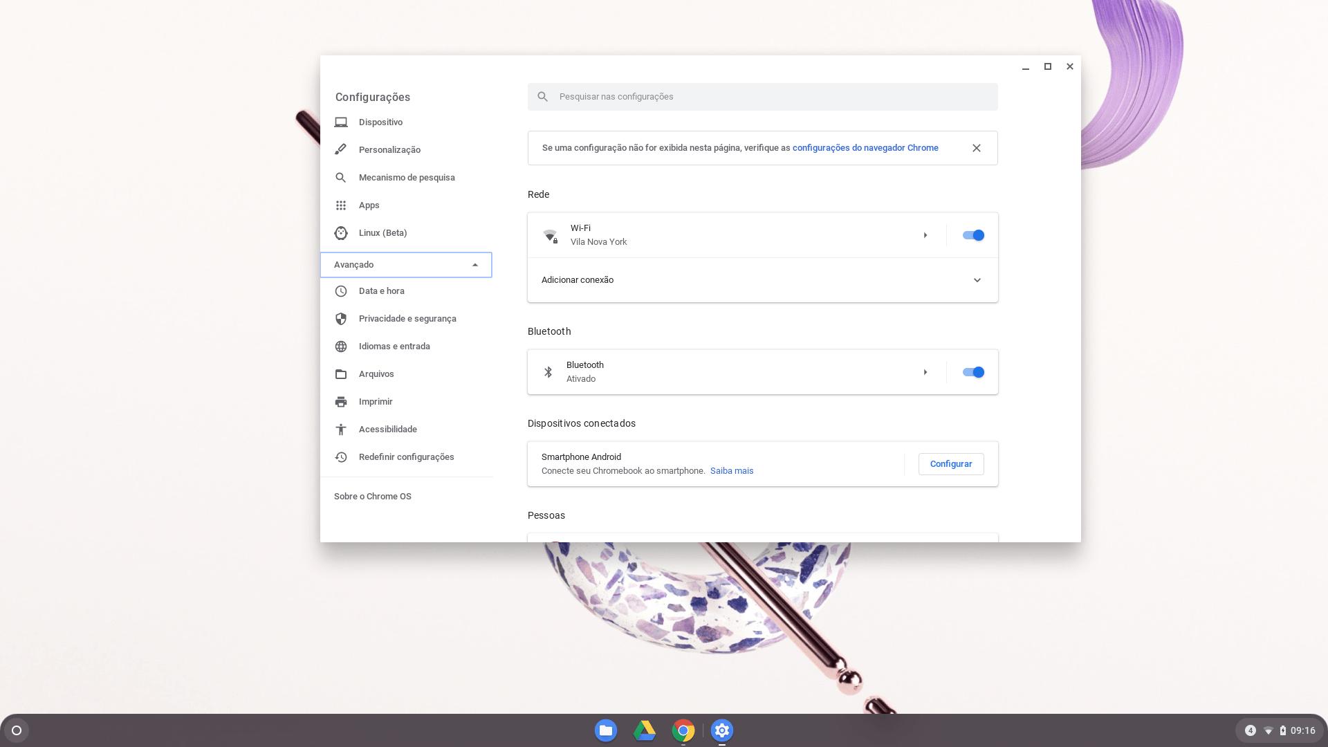 Procedimento para formatação do Chromebook - parte 1