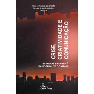Capa do Livro crise - Criatividade e Comunicação da editora Gênio Criador